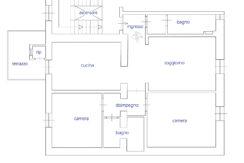 09 Appartamento C planimetria