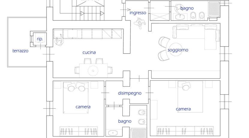 10 Appartamento C arredata