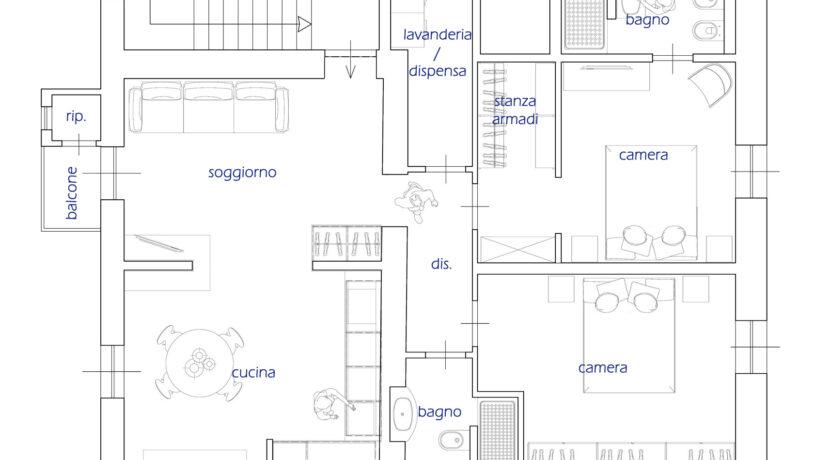 12 Appartamento E arredata